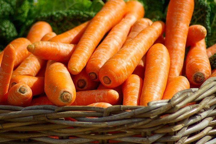 Morötter är ofta närodlade